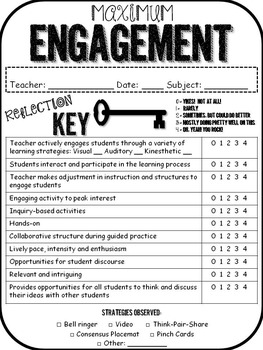 Engagement Rubric