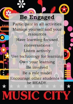 Engagement in learning posters