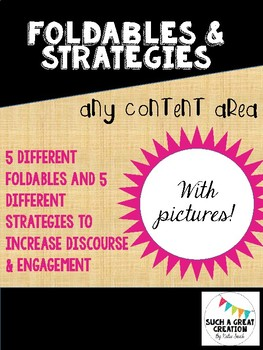 Engagement strategies & Foldables
