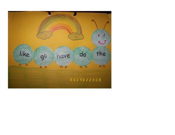Color, Cut and Paste Art for High Frequency Words and Sight Words Intervention