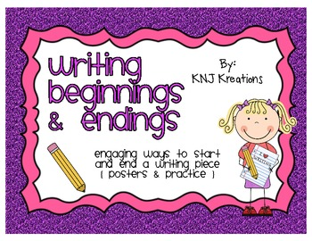 Engaging Beginnings & Endings In Writing
