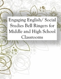 Engaging Bell Ringers for Middle and High School Classrooms