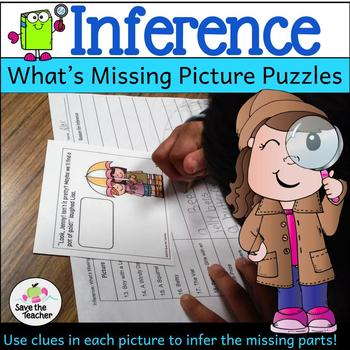 Inference: Missing Picture Puzzles