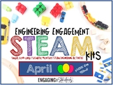Engaging Engineering STEAM Kit - April Edition (Plastic Eg