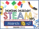 Engaging Engineering STEAM Kit -- March Edition (Gold Coin Themed Challenges)