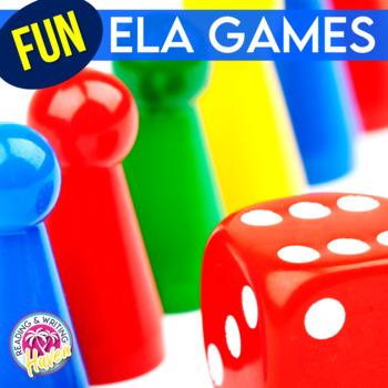 Engaging English Language Arts (ELA) Games Bundle (Growing)