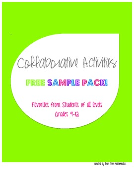 *Engaging* FREE Activities to Make Learning Fun!