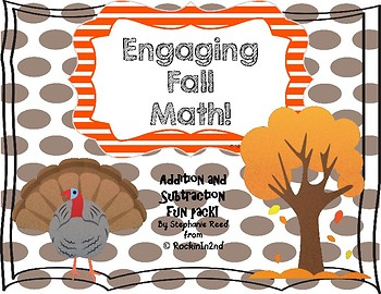 Thanksgiving or Fall Math Themed Activities
