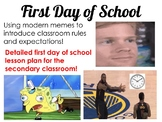 Engaging First Day of School Introduction Filled with New Memes