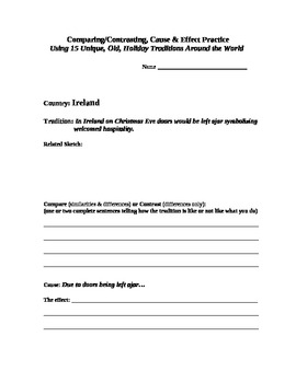 Engaging Fun With Reading Skills Using a Holiday Tradition From Ireland