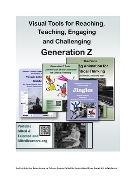 Engaging iGen GENERATION Z with Visuals Videos Toolkit and Lessons - FREE! GATE