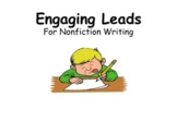 Engaging Leads for Nonfiction Writing (PowerPoint)