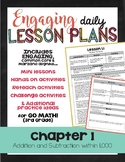 {Go Math - Third Grade} Engaging Lesson Plans - Chapter 1