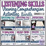 Engaging Listening Activities for Teens Bundle {Back to School/All Year Round}