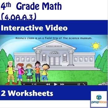 Common Core Math Activity–Operations on Whole Numbers-4.OA.A.3
