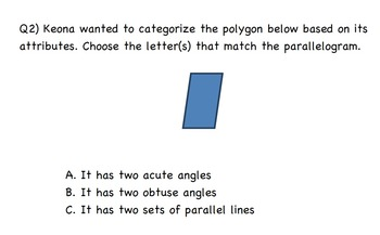 Common Core Math Activity-Identify 2D shapes-4.G.A.2