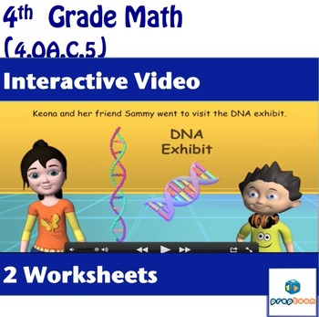 Common Core Math Activity - Analyze Number Patterns-4.OA.C.5