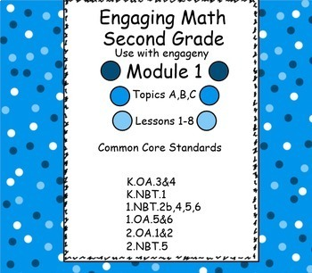 Engage NY Math Module 1 for Second Grade Smart Board for engageNY