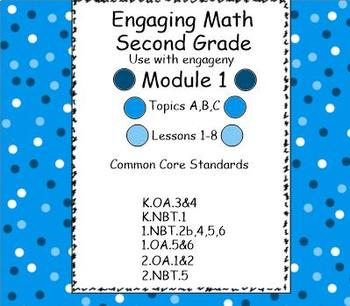Engage NY Math Module 1 for Second Grade (Powerpoint Format)