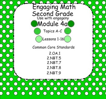 Engage NY Math Module 4A for Second Grade Smart Board for engageNY