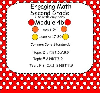 Engage NY Math Module 4B for Second Grade Smart Board