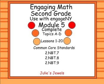 Engage NY Math Module 5 Complete for Second Grade Smart Board for engageNY