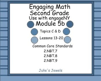 Engage NY Math Module 5B for Second Grade Smart Board