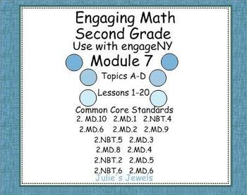 EngageNY Math Module 7 for Second Grade SmartBoard