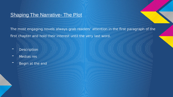 Engaging Plot for Narrative Writing