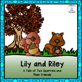 Engaging Reader with Literacy Worksheets - Lily & Riley--A