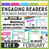 Engaging Readers Set Three: FEBRUARY