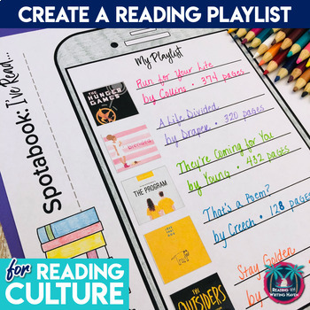 Engaging Reading Activity for Secondary Reading Culture with Spotabook Display
