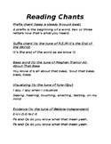 Engaging Reading Chants