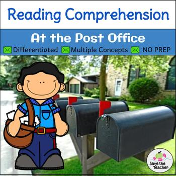 Reading Comprehension Stories: Community Helpers at the Post Office