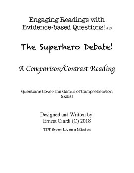 Engaging Readings with Evidence-based Questions, #10