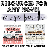 Engaging Resources for ANY Novel MEGA BUNDLE - Literary An