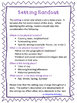 Engaging Setting Activity For Upper Elementary and Middle School Students