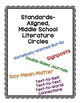 Engaging, Standards-Aligned Literature Circles for Middle Schoolers