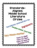 Engaging, Standards-Aligned Literature Circles for Middle