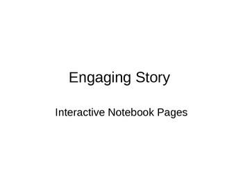 Engaging Story Interactive Notebook Pages