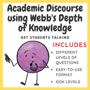 Engaging Students in Conversations using Webb's Depth of Knowledge