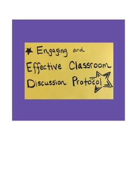 Engaging Students in Effective Classroom Discussions