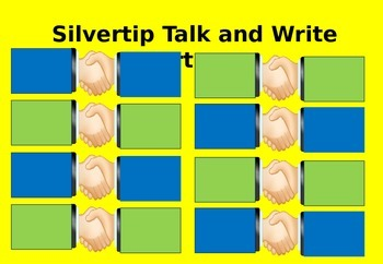 Engaging Talk and Write partners template