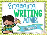 Engaging Writing Activities Volume 2