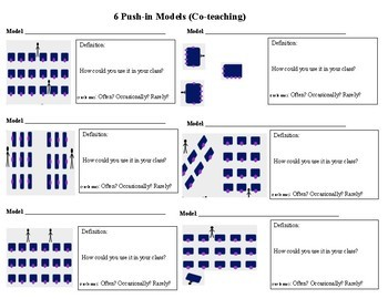 Engaging all Learners Through Push-in Support - PRESENTATION & HANDOUTS