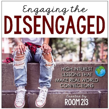 Engaging the Disengaged: High Interest Lessons for Secondary ELA (Bundle)