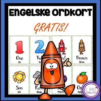 Engelske ordkort