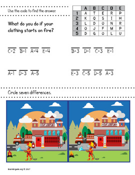 Engine 65: Get to the Fire! | Fire Safety & Prevention Game, Activities, Crafts