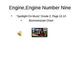 Engine Engine Boomwhacker Chart