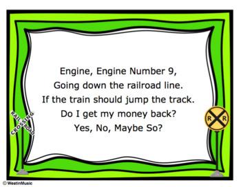 Engine Engine: ESL Vocab, Flashcards, Worksheets